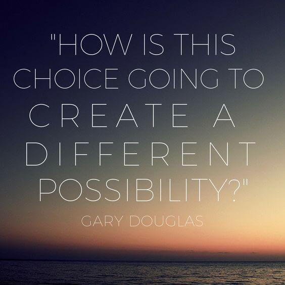 選擇創造的可能性與覺察課程
